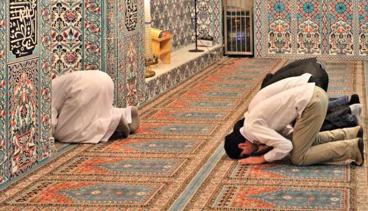 pious routine muslim